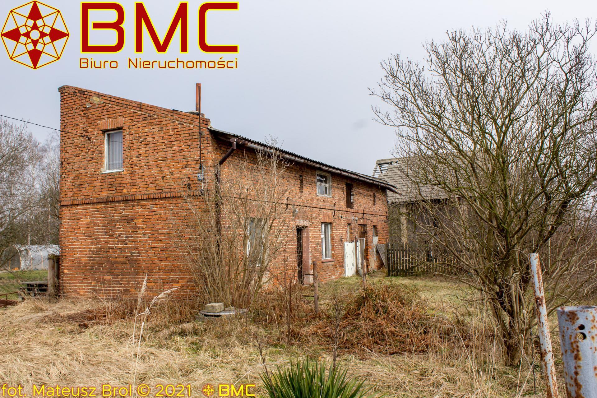Nieruchomość Dom sprzedaż Kochcice Powojenny dom z czerwonej cegły w Kochcicach1