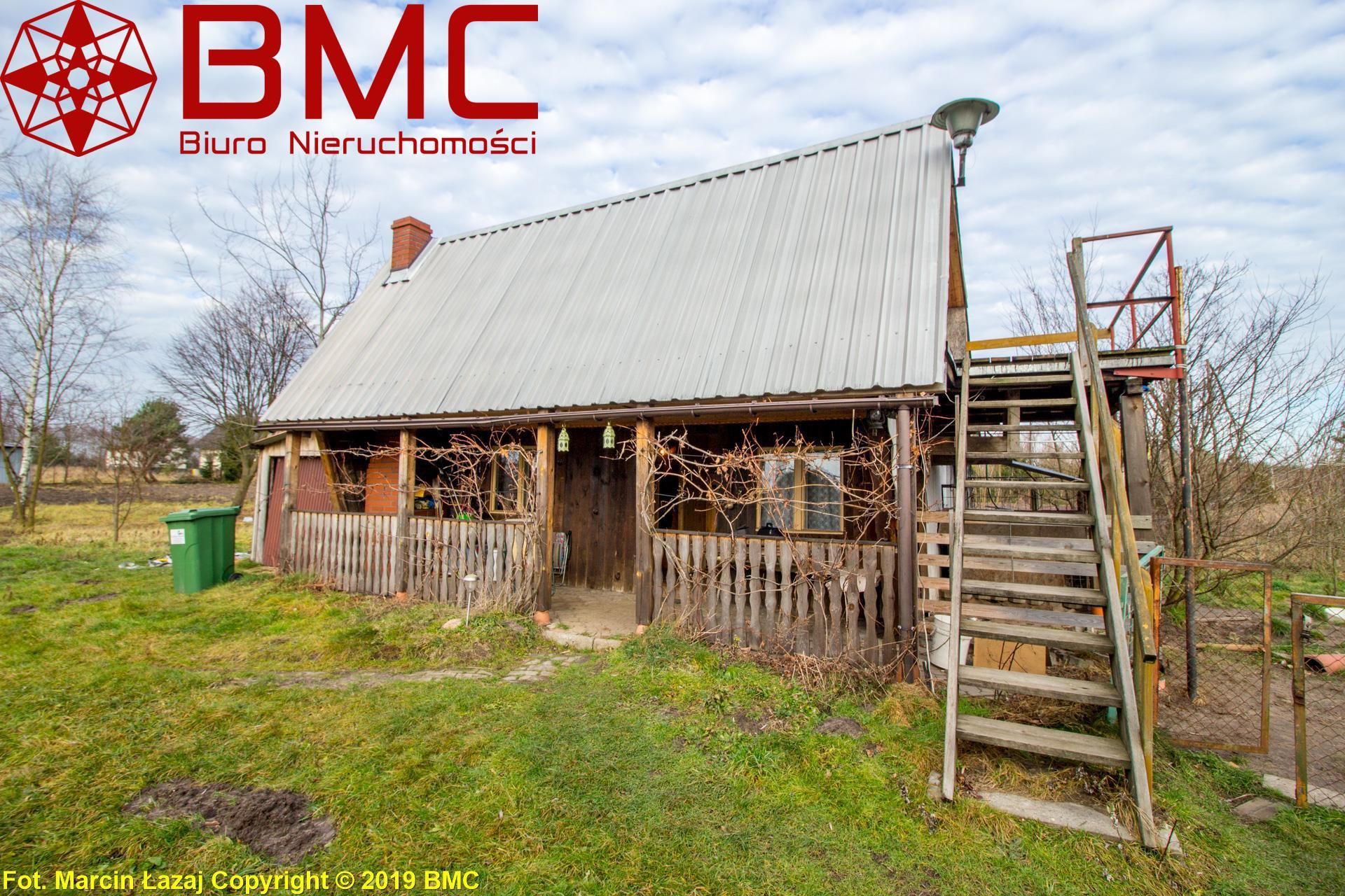 Nieruchomość Dom sprzedaż Rusinowice Domek letniskowy na działce ze stawem pod lasem1