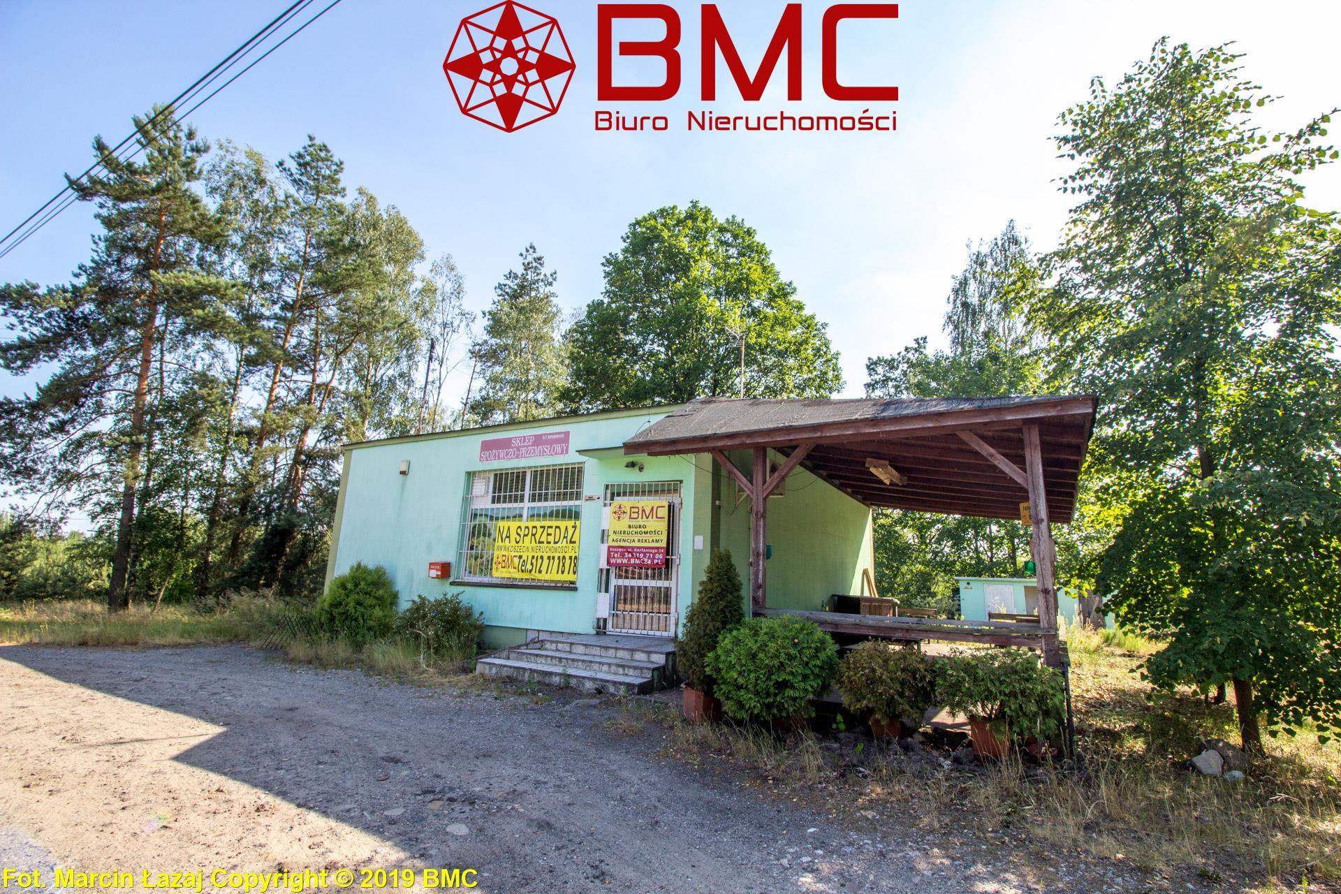 Nieruchomość Obiekt sprzedaż Kamińsko Obiekt pod domek blisko lasu Kamińsko1